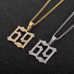 69 Iced Out Necklace - wave-cheque