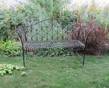 Load image into Gallery viewer, Garden Furniture - Antique Blue - Rusty Bench