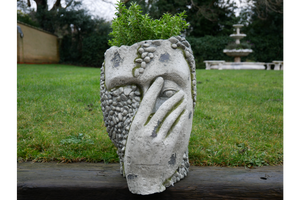 """Peek A Boo"" Head Planter"