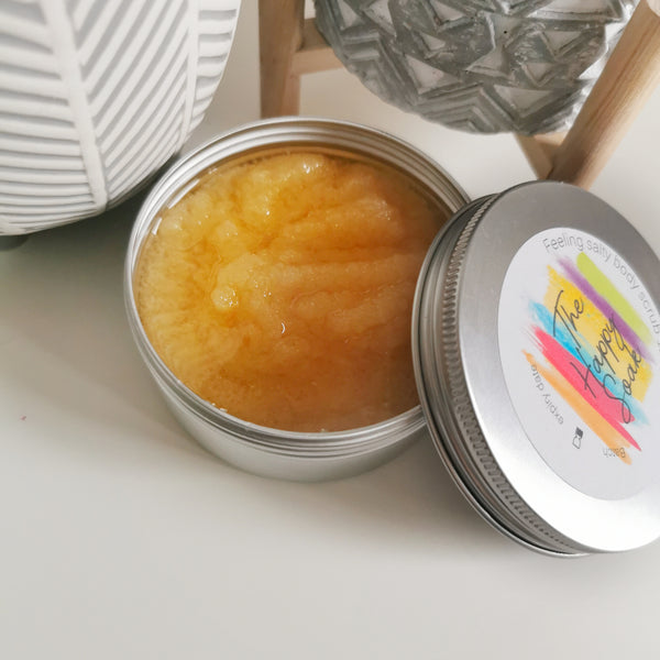 Feeling salty dead sea salt body scrub