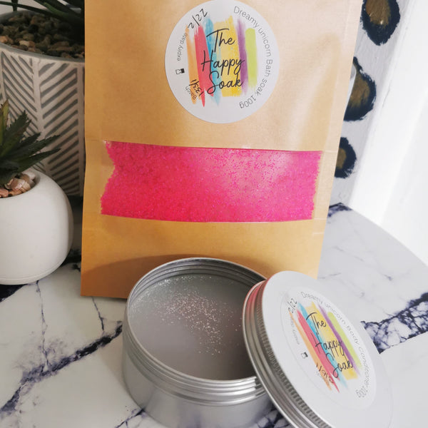 Dreamy unicorn bath soak