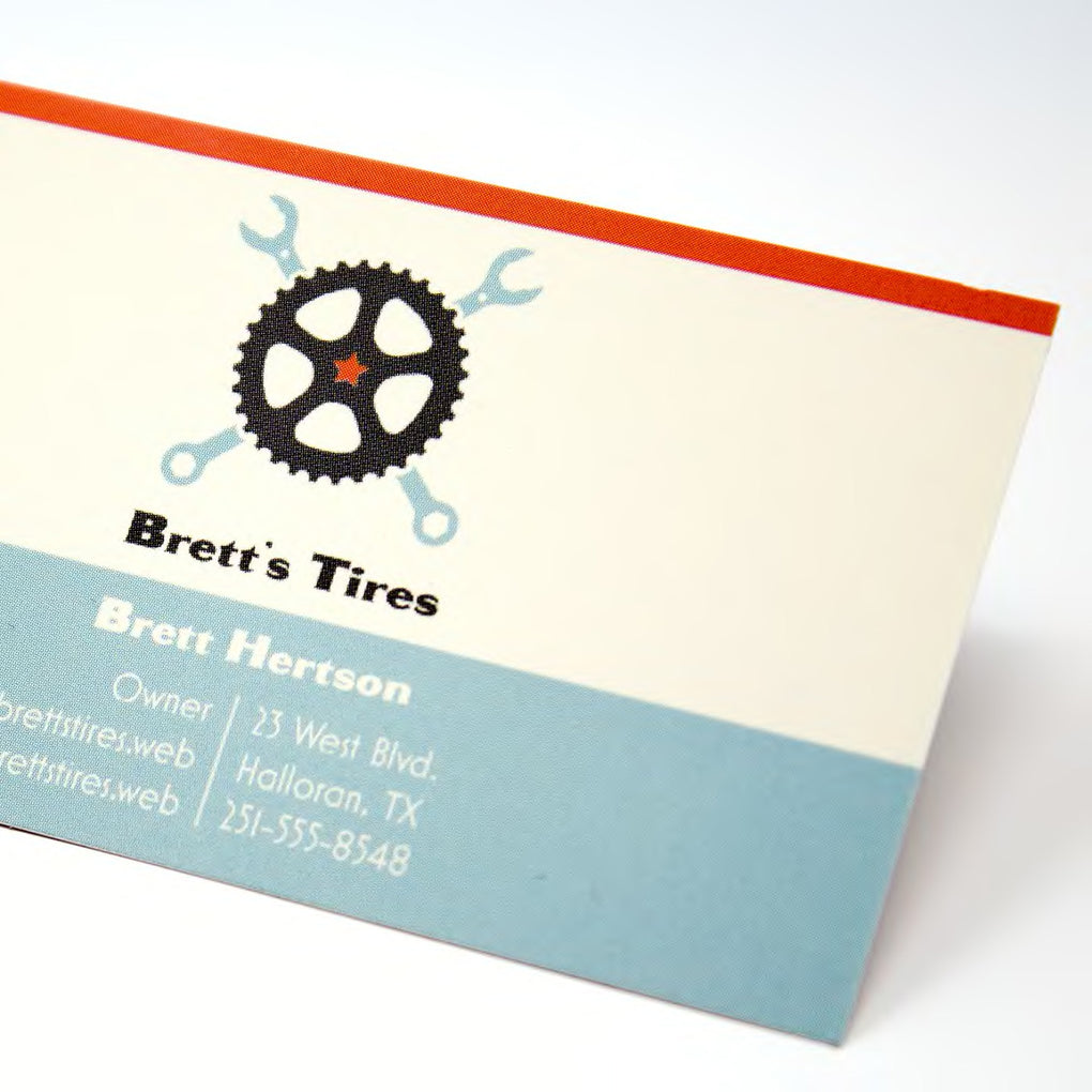 14pt Glossy Business Cards