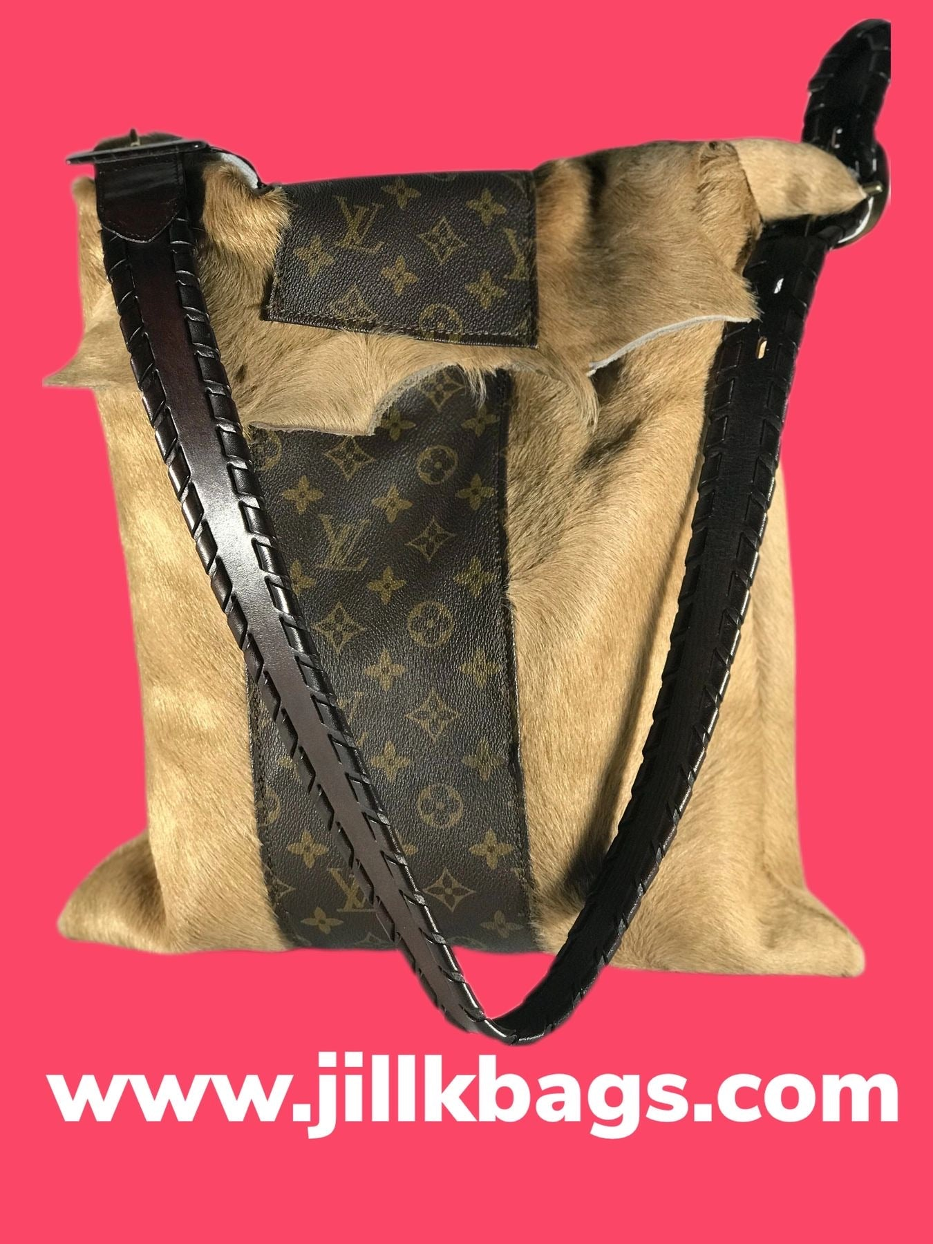 LV On Hide Tote