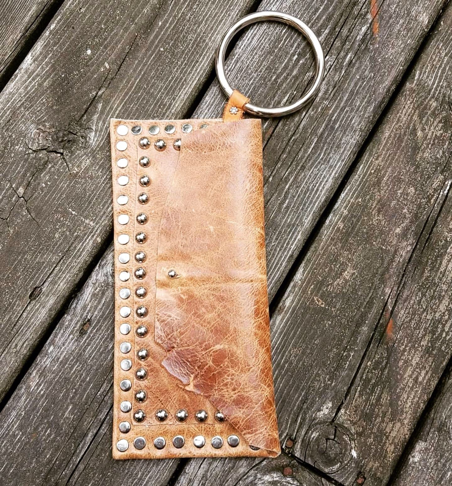 Distressed Camel Wallet