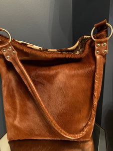 Brown Fushion Tote