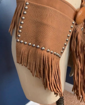 Camel Leather hipster