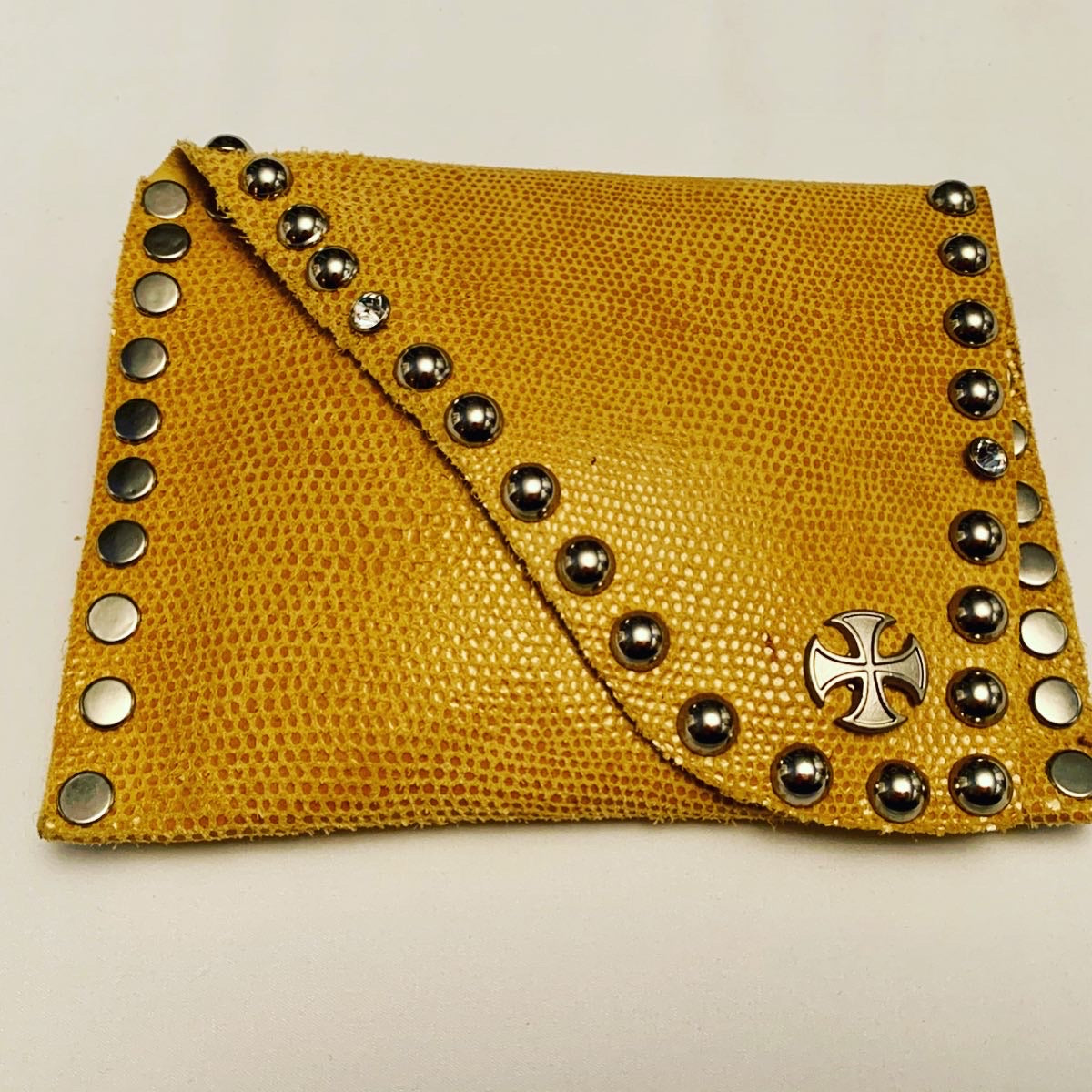 Yellow Square Wallet