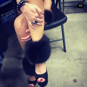 Fox Fur Ankle/Boot Cuffs