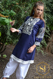 CUFFED SLEEVED KURTHI/TOP
