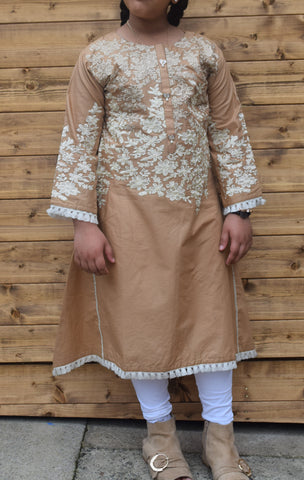 Kids long sleeved kurta