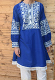 Cuffed Sleeved Kurta