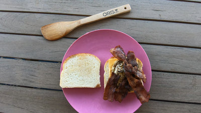 Breakfast is tasty and easy on the ORIS