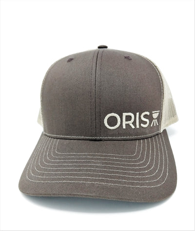 ORIS 6 panel trucker hat Brown/Khaki