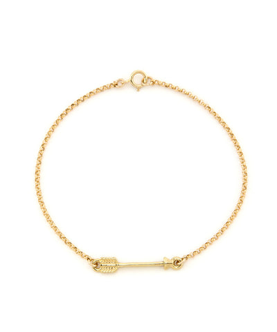 14K Gold Filled Arrow Bracelet