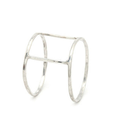 Sterling Silver or 14K Gold Fill Cage Ring