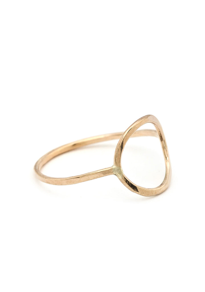 Sterling Silver or 14K Gold Filled Circle of Life Ring
