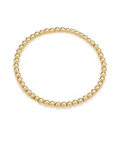 14K Gold Filled Beaded Stretch Bracelet
