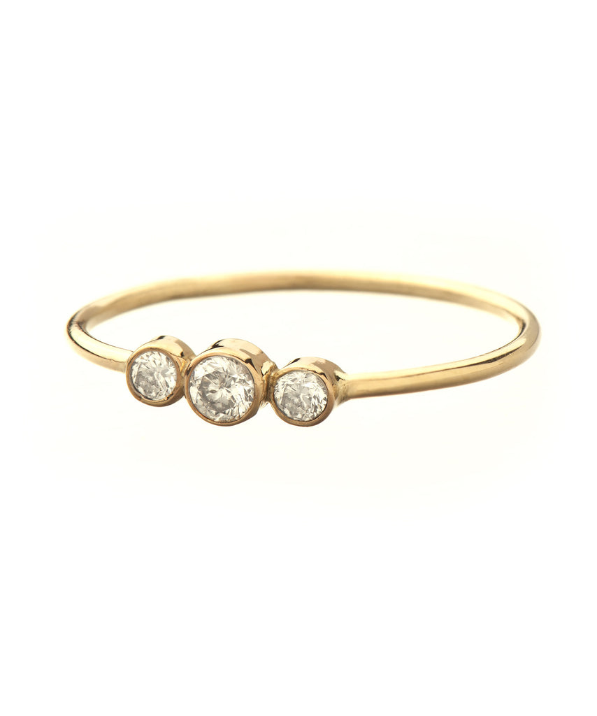 Julianna Solid 14K Gold Ring