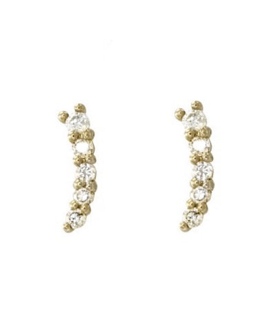 Cleo 14k Diamond Stud