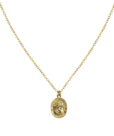 Small Saint Christopher Necklace