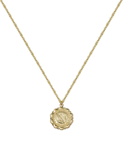Large Saint Christopher Necklace