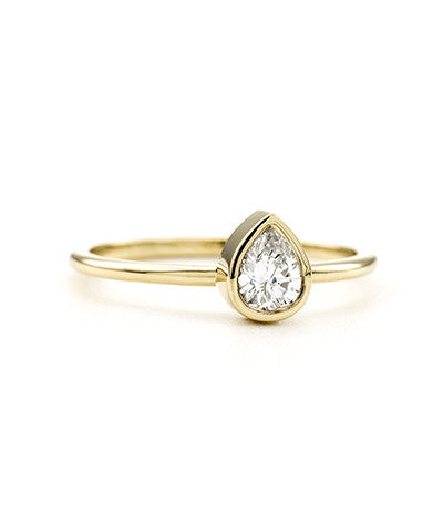 237892b067 Tiny Teardrop Ring – Belladaar