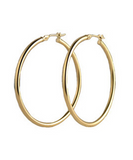 Badgal Thick Hoops