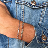 Mens Sterling Silver Set