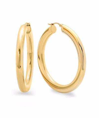 Big Chunk 14k Gold Filled Hoop