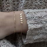 Gold Filled Bar Bracelet