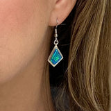 280ER - BLUE OPAL EARRINGS