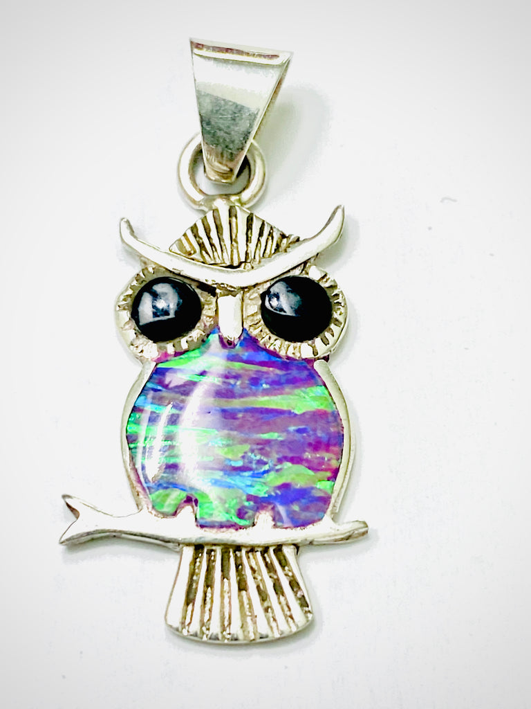Purple Opal Owl