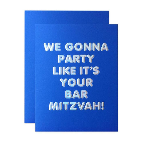 The top 5 Mazel Tov Bar Mitzvah and Bat Mitzvah Greeting Cards_modern_minimal_socialtype