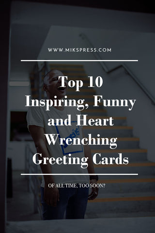 Top 10 Inspiring Funny and heart wrenching Greeting Card Brands