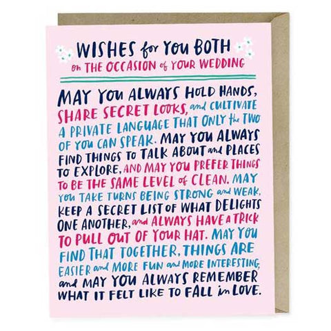 Top 7 Funny Modern Wedding Greeting Cards to impress your friends_emilymcdowell