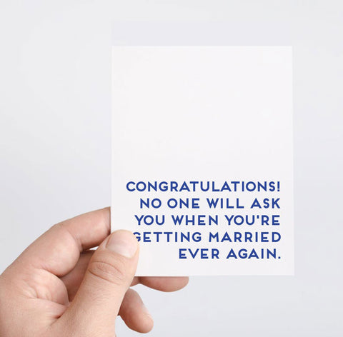 Top 7 Funny Modern Wedding Greeting Cards to impress your friends_spadestationary