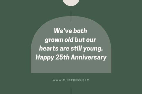 25th Anniversary Quotes for Husband to write in card