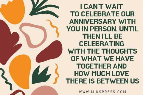 Anniversary Message for Husband who is Far Away to write in card