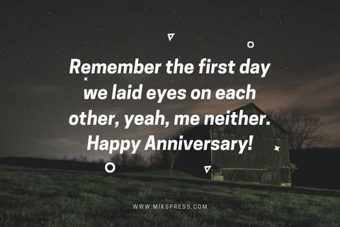 Short Funny Anniversary Wishes for Husband That Can Fit on a Flower Card to write in card