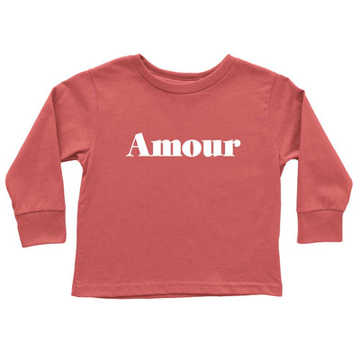 Cute red birthday gift for two year old long sleeve shirt