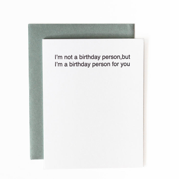 Bday Card Ideas for introvert