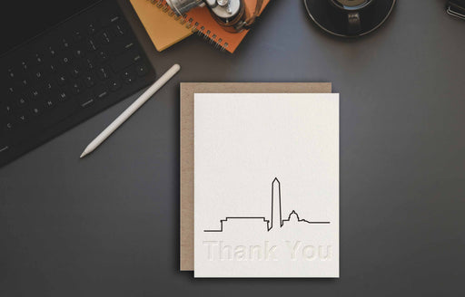 Washington Art skyline card