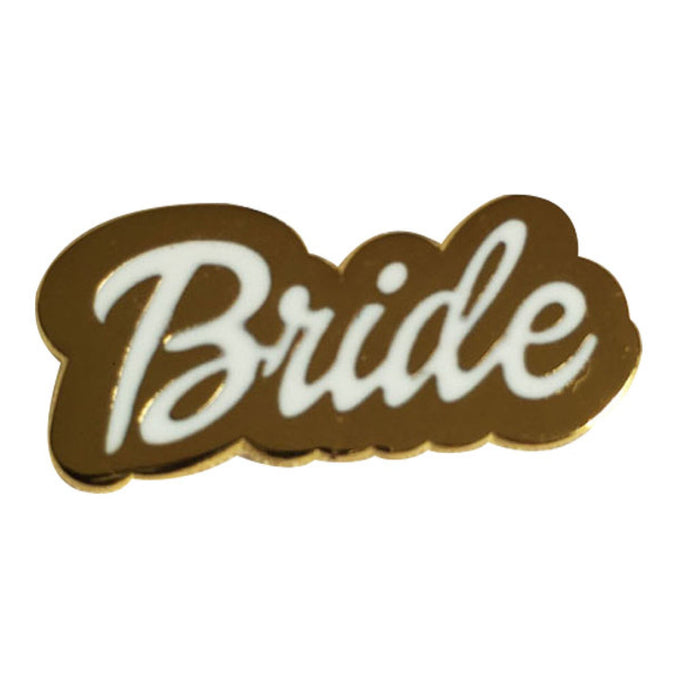 Bridal Party pin white background