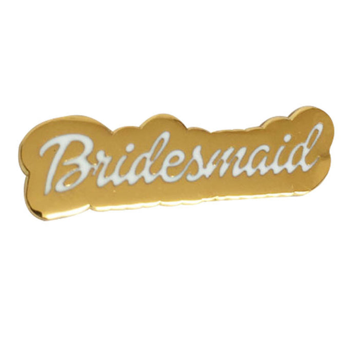 Bridesmaid Gift pin white background