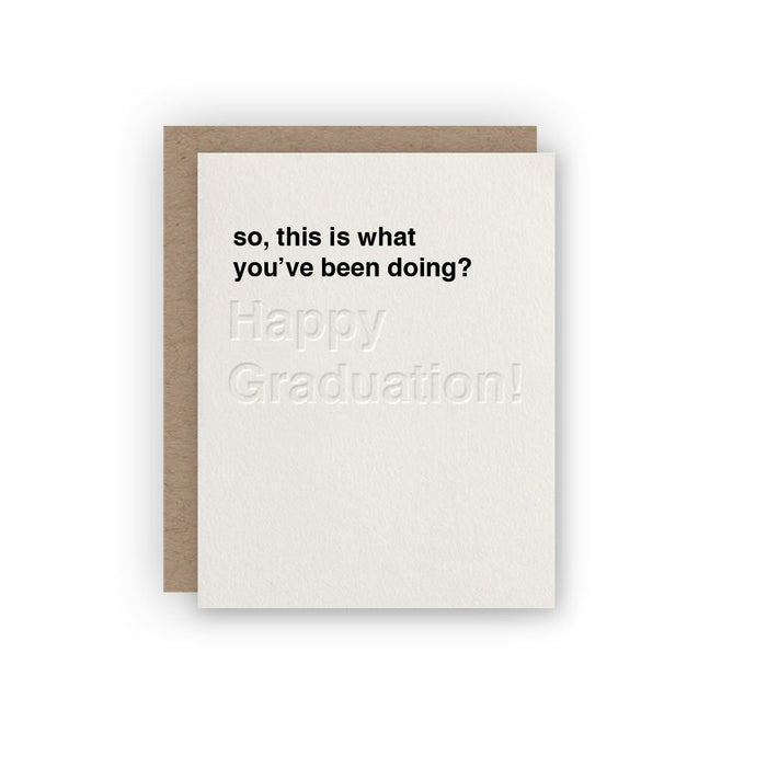 Congratulations Card you did it