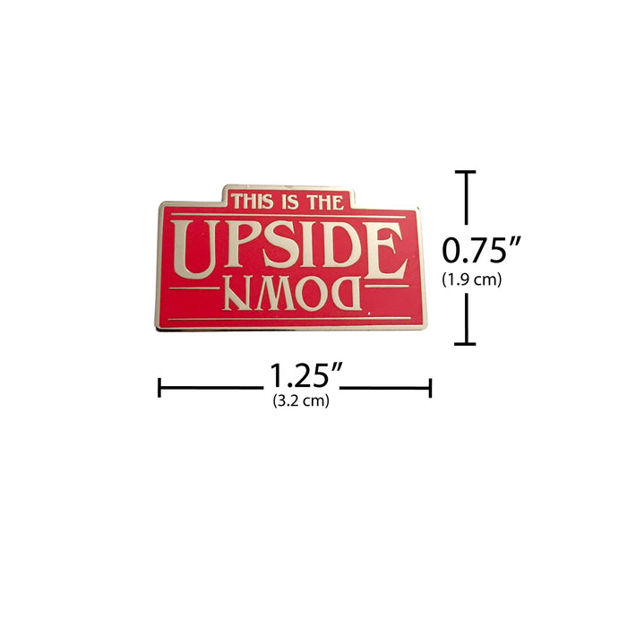 Stranger Things Pin The Upside Down measurement