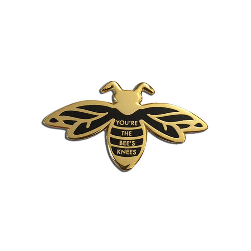 Cute Bee Pin white background