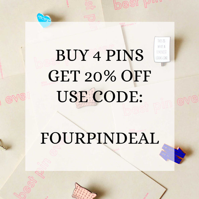 Enamel Pin coupon code