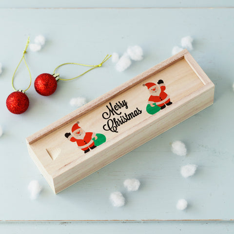 Personalised Santa Pencil Case