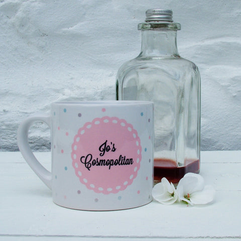 Personalised 'Cocktail' Mugs